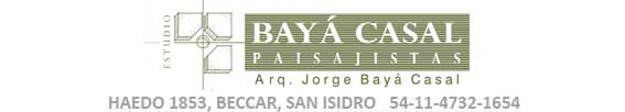Estudio Bayá Casal Paisajismo